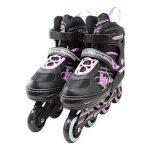 Rollers Professionneles pour enfants/adolescents/adultes - à taille réglable, roulis avant Luminous de la marque GaoXin image 1 produit
