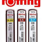 ROtring lot de 3 tikky avec codes couleurs 0,35/0,5/0,7 mm de la marque Rotring image 3 produit