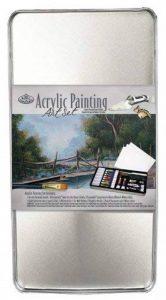 Royal and Langnickel Deluxe Kit peinture acrylique Boîte métal de la marque Royal & Langnickel image 0 produit