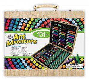 Royal & Langnickel Set Art Adventure 131 Pièces Dimensions de la boîte 31 cm x 37 cm x 5 cm Multiple de la marque Royal & Langnickel image 0 produit