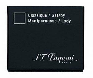 S.T. Dupont Lot de 2 boîtes de cartouches d'encre 6 pièces Bleu roi de la marque S.T. Dupont image 0 produit