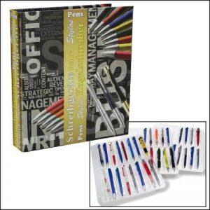 SAFE Album 7929 crayons/stylo-bille/stylo-plume-format a4 3 x compact stylo-crayon à papier-format a4 etc. no 48 pochettes pour stylo à plume et stylos de la marque SAFE Sammelalben & Hüllen von A-Z image 0 produit