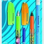 Schneider 74370 Set d'écriture avec 1 stylo à plume + 1 roller + 1 effaceur d'encre double pointe de la marque Schneider image 2 produit