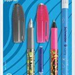 Schneider 74370 Set d'écriture avec 1 stylo à plume + 1 roller + 1 effaceur d'encre double pointe de la marque Schneider image 4 produit