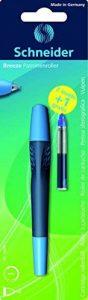 Schneider 78890 Blister avec 1 Roller ergonomique + 3 cartouches à encre bleu + 1 gratuite (Couleurs Assorties) de la marque Schneider image 0 produit