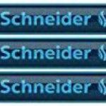 Schneider Recharge stylo bille Slider 755, indélébile, XB, bleu, carte blister de 3 de la marque Schneider image 1 produit