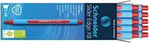 Schneider Slider Edge / 152203 Stylo bille rétractable Mine XB/bleu Corps bleu Lot de 10 de la marque Schneider image 0 produit