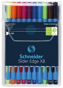 Schneider Slider Edge Stylo-bille non rétractable Couleurs Assortis Pochette de 10 de la marque Schneider image 0 produit