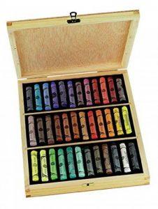 Sennelier - Coffret bois garni 36 pastels à l`écu Sennelier - N132105 de la marque Sennelier image 0 produit