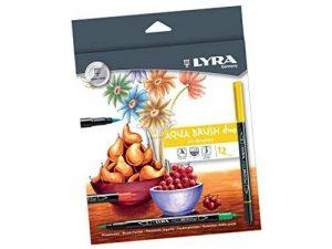 Set de 12 feutre-pinceau 'Lyra - Aqua Brush duo' de la marque Lyra image 0 produit