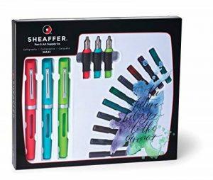 Sheaffer calligraphie Maxi 3Stylo plume avec 3Ensemble cadeau de la marque SHEAFFER image 0 produit