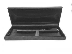 SHOPTOTUM Rouleau en fibre de carbone Pen noir mat - encre noire, écriture fluide, exécutif pour les affaires et les professionnels, Pen cool et chic cadeau pour les hommes ou les femmes de la marque SHOPTOTUM image 0 produit