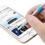Shulaner 7 en 1 Outil de Tech Stylo avec règle, décapsuleur, support de téléphone, stylo à bille, Stylet et 2 tournevis, outil multifonction pour homme coffret cadeau de père bleu de la marque Shulaner image 4 produit