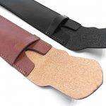 Shuxy Porte-stylo en Cuir Fait Main Pochette pour Stylo-plume Protecteur de Stylo Doux Housse de Manche pour Stylo à Bille, Stylet - Paquet de 2 ( Noir & Marron ) de la marque Shuxy image 2 produit