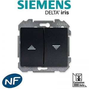 Siemens - Interrupteur pour volet roulant Anthracite Delta IRIS de la marque Siemens image 0 produit