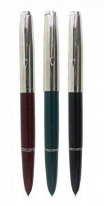 Sipliv 3PCS classique stylo plume héros 616, en 3 couleurs, garniture argentée de la marque SIPLIV image 0 produit