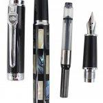 Sipliv véritable coquilles de coquillages stylo plume arbre fontaine, plume moyenne - cadeau emballé de la marque SIPLIV image 3 produit