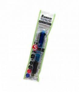 Sista (le Corps est de Couleur BLEU) 5 Knock portemine 0,5 mm & Stylo-Bille (0,8 mm) en Noir 1,0 mm + noir·bleu·rouge 0,8 mm de la marque Sista image 0 produit
