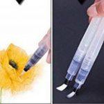 Slivercolor aquarelle Brosse Pen, 6pièces différents Conseils de brosse, l'artiste d'eau Brosse, brosse avec réservoir d'eau rechargeables pour aquarelle Huile Peinture acrylique de la marque Slivercolor image 4 produit