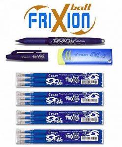 Special Bonus Pack Pilot FriXion Ball Roller encre [0,7] Lot de 12mines Recharges | 4Kit de 3Bleu + 1Frixion Ball en bleu et 1Frixion original Remover en bleu de la marque Pilot Pen image 0 produit