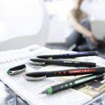 STABILO bl@ck+ - Pochette de 6 stylos rollers pointe médium à encre liquide - Coloris assortis de la marque STABILO image 3 produit