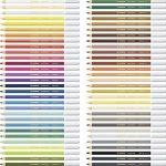 STABILO CarbOthello - Coffret bois de 60 crayons + taille-crayon + gomme spéciale + 1 estompe - Coloris assortis de la marque STABILO image 3 produit