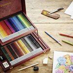 STABILO CarbOthello - Coffret bois de 60 crayons + taille-crayon + gomme spéciale + 1 estompe - Coloris assortis de la marque STABILO image 4 produit