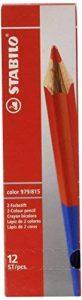 STABILO color 979/815 - Lot de 12 crayons de couleur bicolore de la marque STABILO image 0 produit