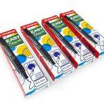 Stabilo Easy Start Recharges–0,5mm Roller–Bleu–Lot de 4–12recharges de la marque STABILO image 2 produit