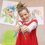 STABILO EASYcolors - Pochette de 12 crayons de couleur ergonomiques + taille-crayon - Droitier de la marque STABILO image 3 produit