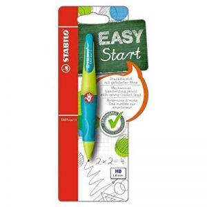 STABILO EASYergo 1.4 - Porte-mine ergonomique turquoise/vert clair + 3 mines HB - Droitier de la marque STABILO image 0 produit