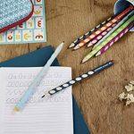 STABILO EASYgraph - Lot de 12 crayons graphite ergonomiques HB (vert bleu) - Droitier de la marque STABILO image 2 produit