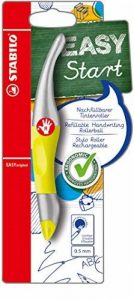 STABILO EASYoriginal - Stylo roller ergonomique rechargeable FLUO jaune - Droitier de la marque STABILO image 0 produit