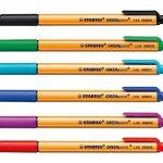 STABILO GREENpoint - Pochette de 6 stylos-feutres pointe large - Coloris assortis de la marque STABILO image 1 produit