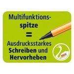 STABILO GREENpoint - Pochette de 6 stylos-feutres pointe large - Coloris assortis de la marque STABILO image 3 produit