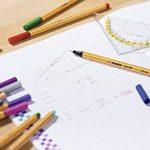 STABILO - Lot de 10 stylos-feutres pointe fine - Rouge (Point -88/40) de la marque STABILO image 4 produit