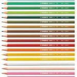 STABILO Lot de 24 crayons de couleur GREENcolors certifiés FSC (Import Allemagne) de la marque STABILO image 1 produit