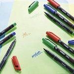 STABILO OHPen - Lot de 10 marqueurs - Noir (encre permanente / pointe fine 0,7mm) de la marque STABILO image 4 produit