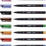 STABILO OHPen - Pochette de 8 marqueurs (encre permanente / pointe fine 0,7mm) de la marque STABILO image 4 produit