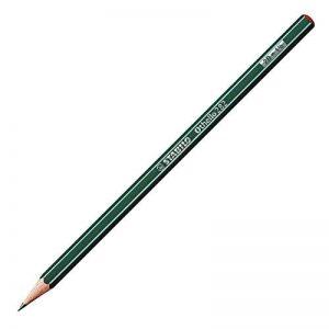 STABILO Othello - Lot de 12 crayons graphite 2B avec tête trempée de la marque STABILO image 0 produit