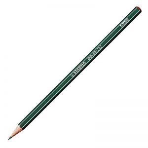 STABILO Othello - Lot de 12 crayons graphite B avec tête trempée de la marque STABILO image 0 produit
