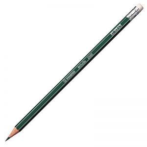 STABILO Othello - Lot de 12 crayons graphite HB - avec bout gomme de la marque STABILO image 0 produit