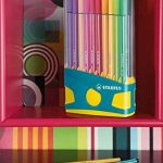 Stabilo Pen 68 Colorparade Turquoise de 20 feutres coloris assortis de la marque STABILO image 1 produit
