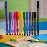 STABILO Pen 68 Mini - Sachet Sweet Colors de 15 feutres pointe moyenne (Édition Limitée) de la marque STABILO image 2 produit