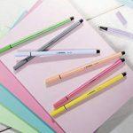 STABILO Pen 68 - Pochette de 10 feutres pointe moyenne - Coloris assortis de la marque STABILO image 4 produit