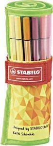 STABILO Pen 68 - Rollerset FAN EDITION de 25 feutres pointe moyenne (Édition Limitée) - Coloris assortis de la marque STABILO image 0 produit