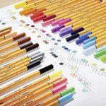 STABILO point 88 - Boite métal de 50 stylos-feutres pointe fine - Coloris assortis de la marque STABILO image 4 produit