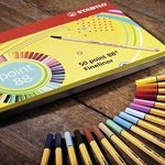 STABILO point 88 - Boite métal de 50 stylos-feutres pointe fine - Coloris assortis de la marque STABILO image 3 produit