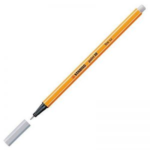 STABILO point 88 - Lot de 10 stylos-feutres pointe fine - Gris clair (88/94) de la marque STABILO image 0 produit