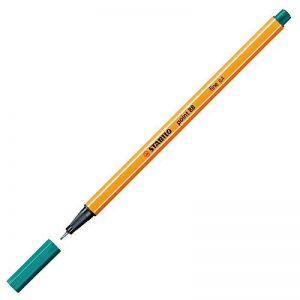 STABILO point 88 - Lot de 10 stylos-feutres pointe fine - Turquoise (88/51) de la marque STABILO image 0 produit